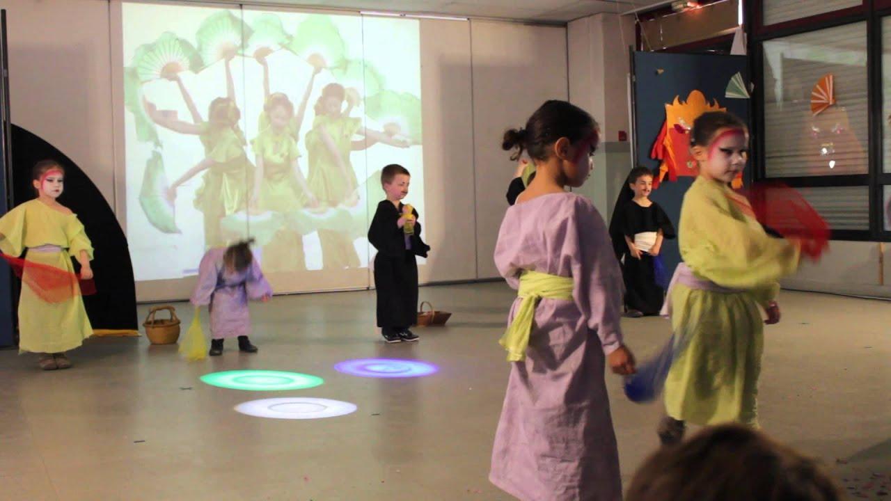 08 - Danse Chinoise - Spectacle Centre De Loisirs Billancourt 2013 à Spectacle Danse Chinoise