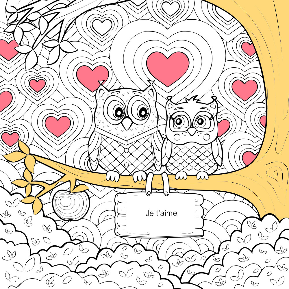 10 Coloriages De Coeurs Pour La Saint-Valentin à Coloriage De St Valentin