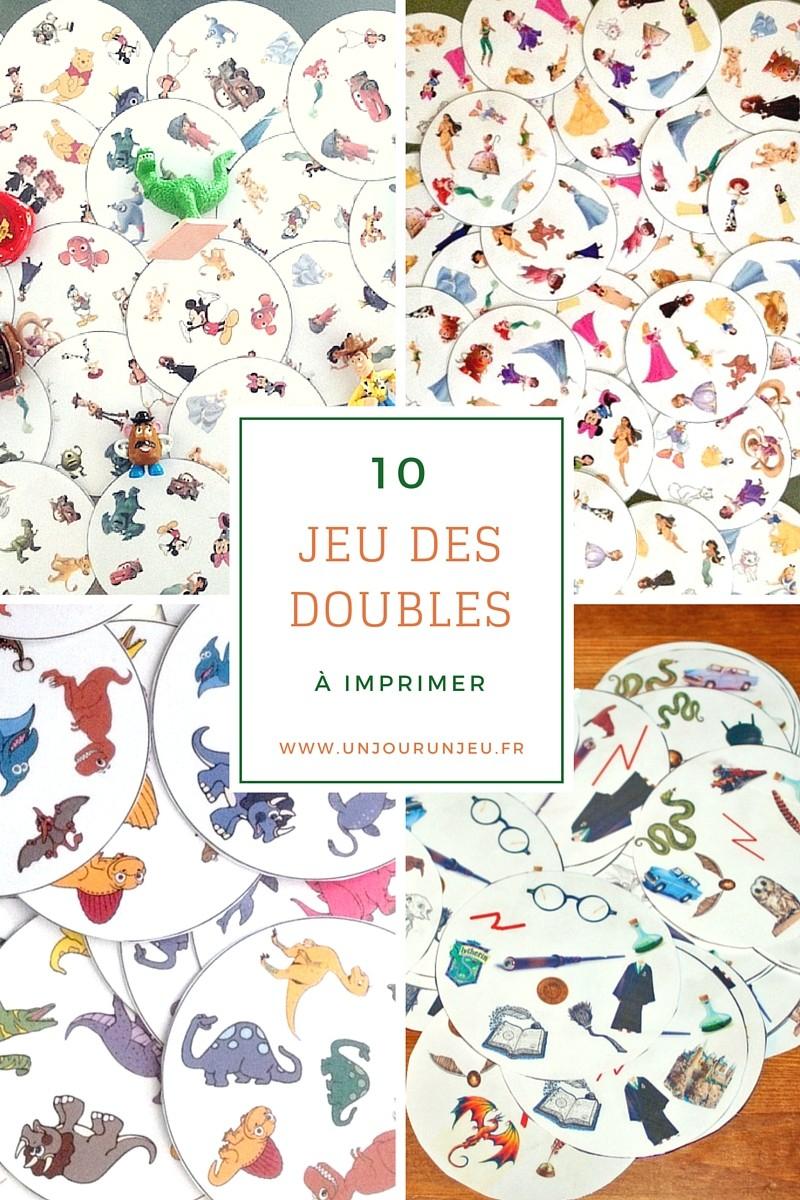 10 Versions Du Jeu Des Doubles À Imprimer Gratuitement à Jeux De Maternelle À Imprimer