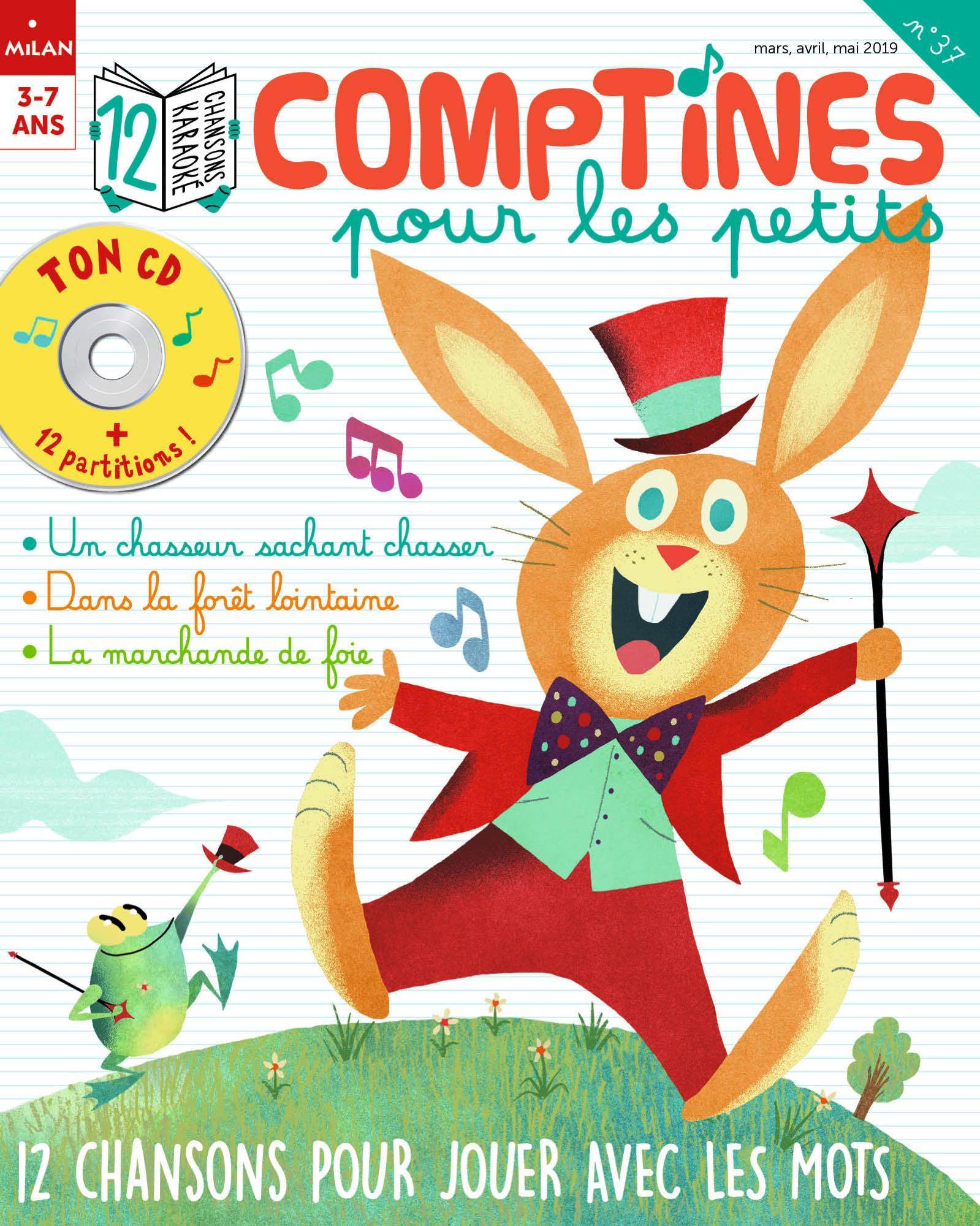 12 Chansons Pour Jouer Avec Les Mots - Histoires Pour Les Petits à Chanson Pour Les Animaux