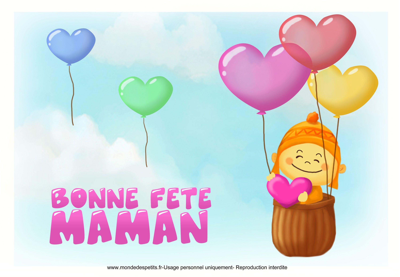 13 Élégant Carte Bonne Fete Maman Imprimer Photograph serapportantà Carte Bonne Fete Maman A Imprimer