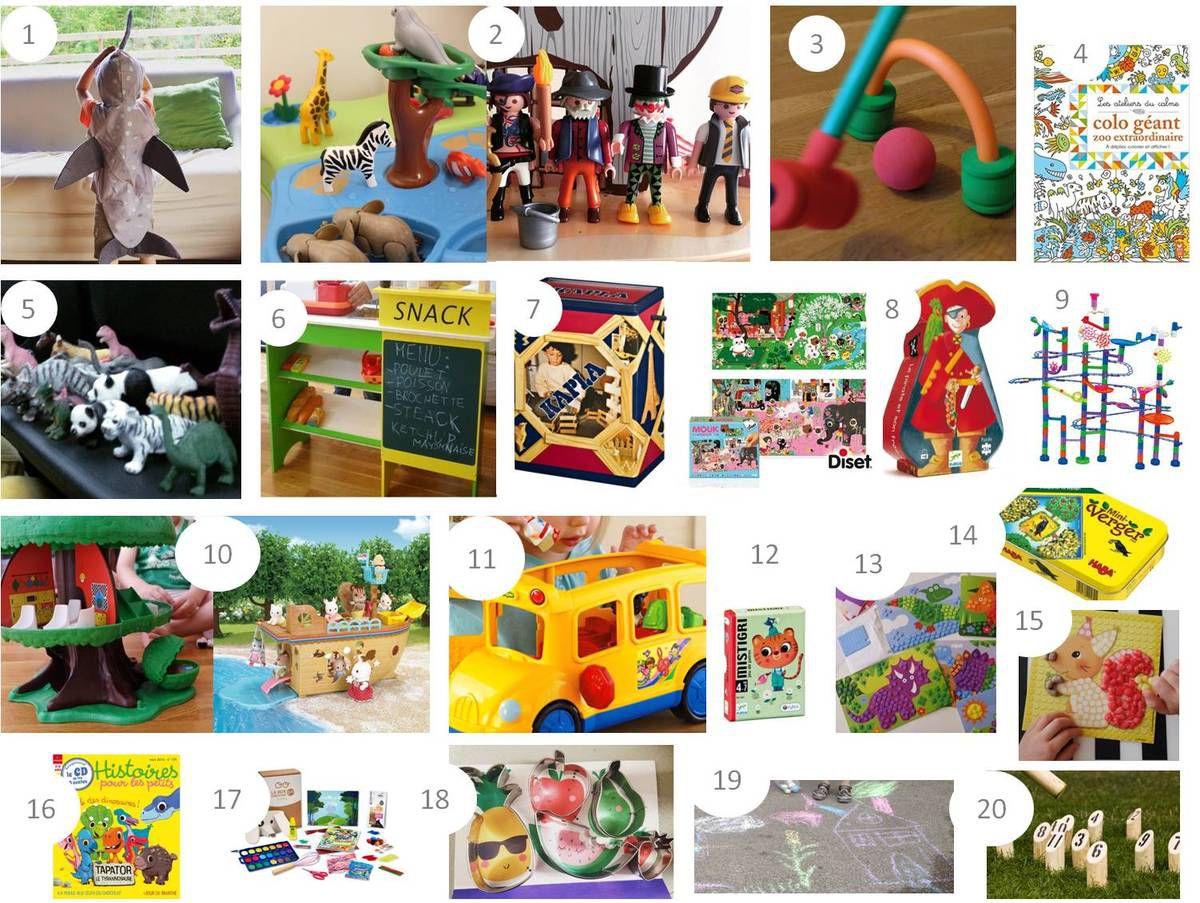 20 Idées Cadeaux Pour Enfant De 3 - 4 Ans - Lucky Sophie intérieur Jeux De Garcon Gratuit 3 Ans