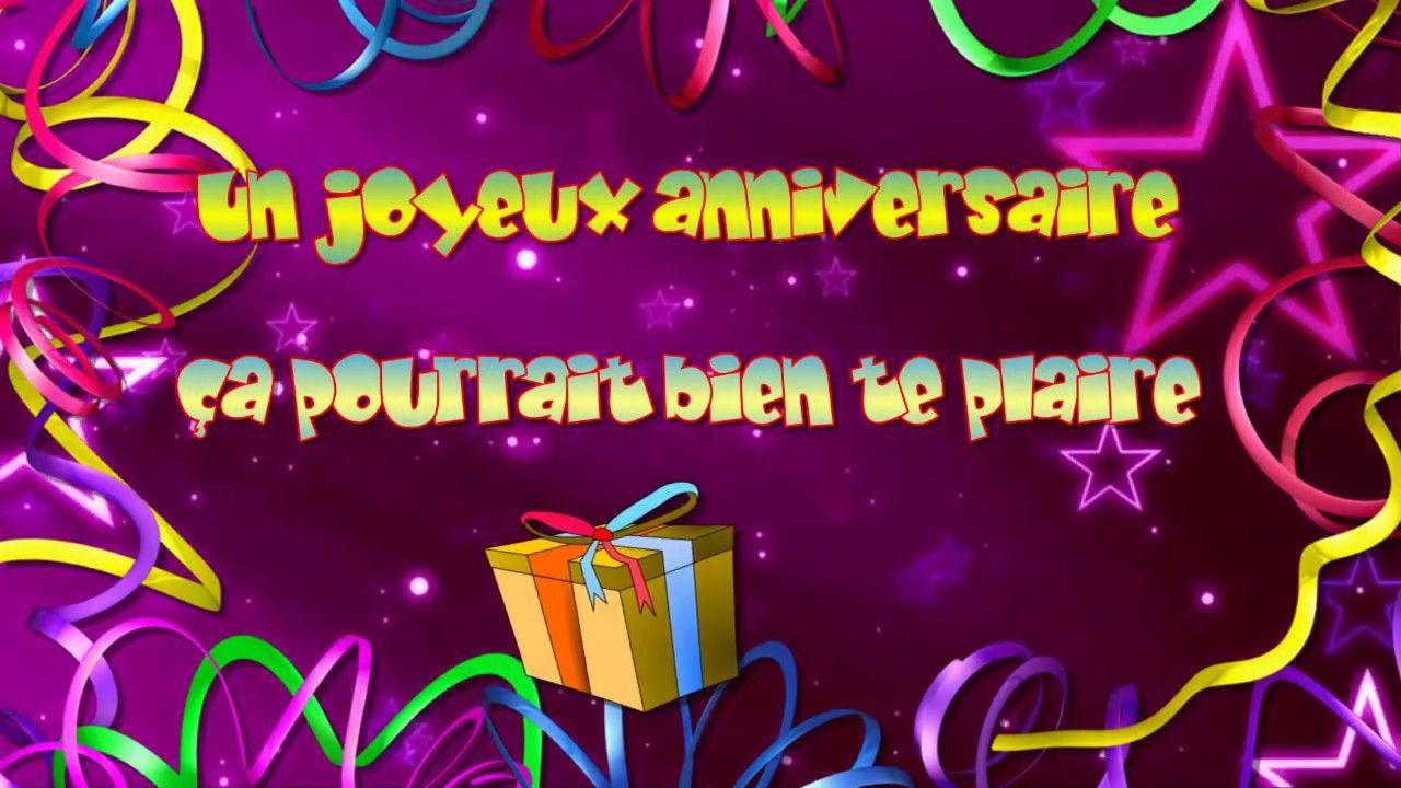 20 Meilleures Joyeux Anniversaire Chanson En Francais Check dedans Comment Souhaiter Un Joyeux Anniversaire En Anglais