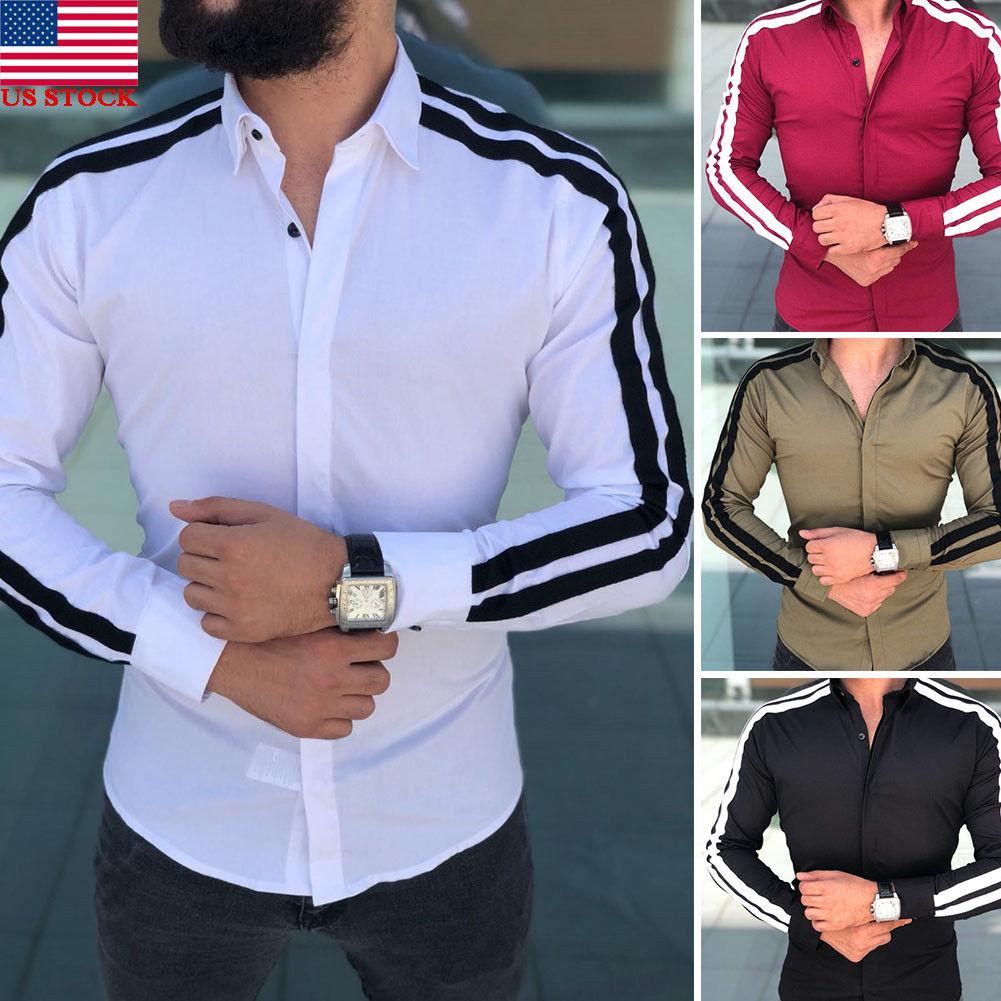 2019 Printemps Automne Caractéristiques Chemises Hommes dedans Caractéristiques De L Automne