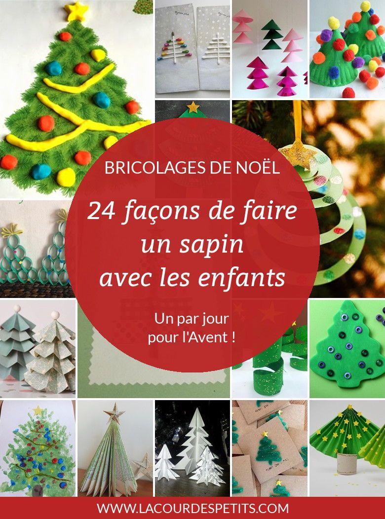 24 Activités Manuelles De Noël Autour Du Sapin | Semaine serapportantà Bricolage De Noel Pour Maternelle