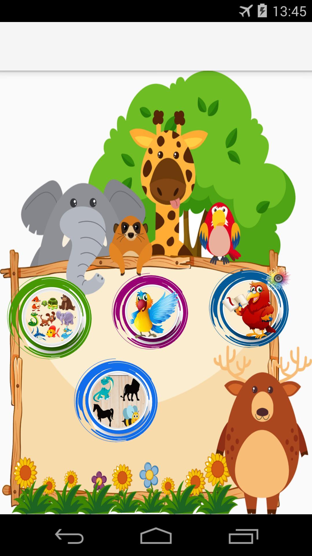 3-4 Ans Jeu Mental Éducatif Pour Enfants Pour Android serapportantà Jeux Educatif 4 Ans