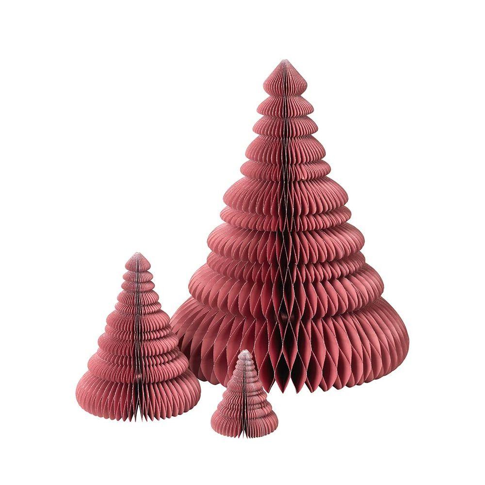 3 Sapins De Noel Origami Broste Copenhagen encequiconcerne Origami Sapin De Noel