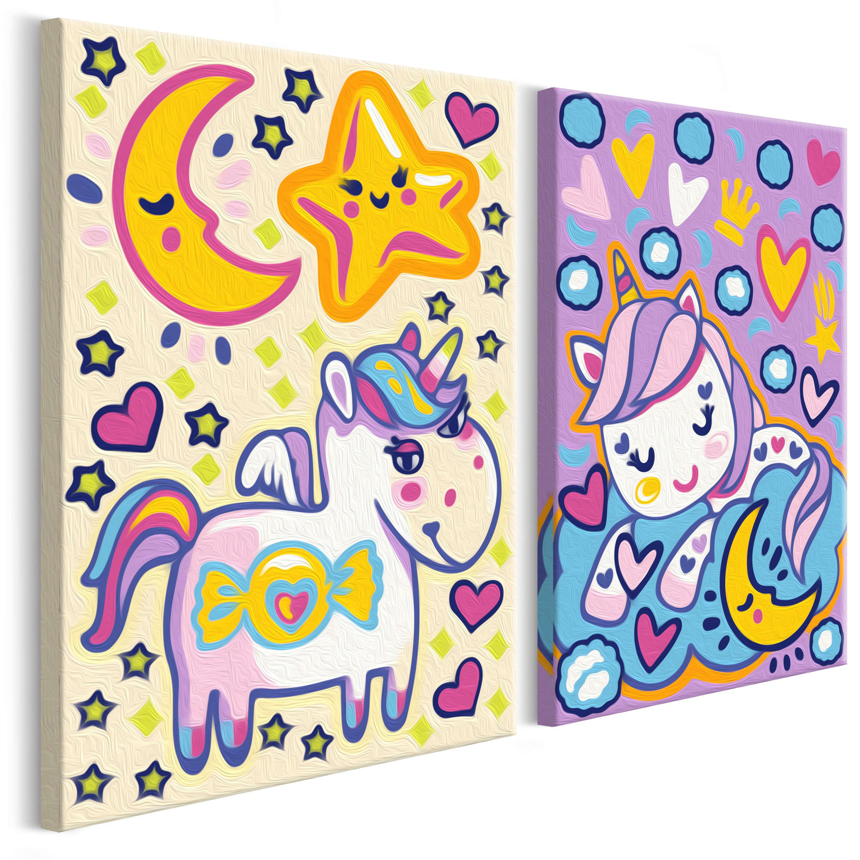 33X23 Tableau À Peindre Par Soi-Même Kits De Peinture Pour concernant Tableau De Peinture Pour Enfant