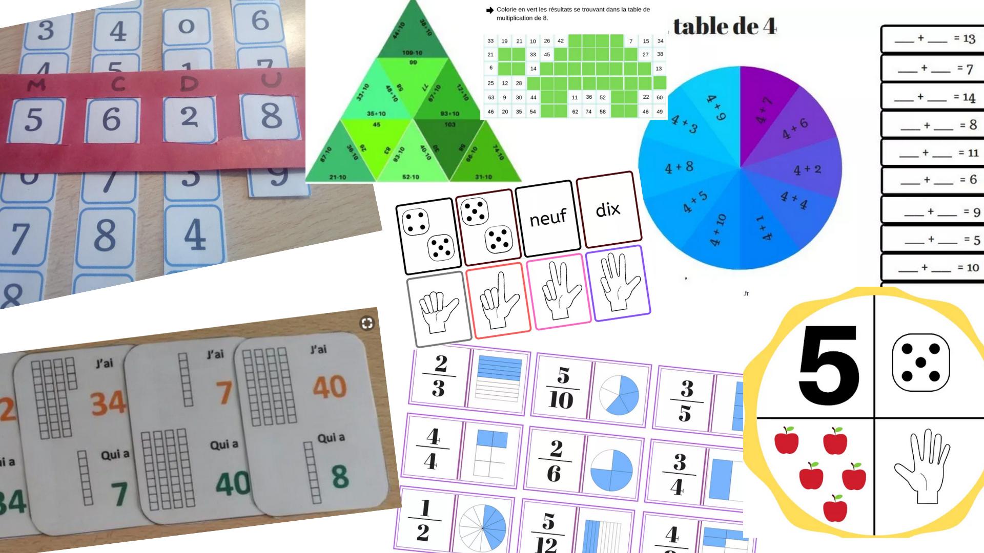 40 Jeux Pédagogiques En Mathématiques Classés Du Cp Au Cm2 serapportantà Exercice Cm2 Gratuit