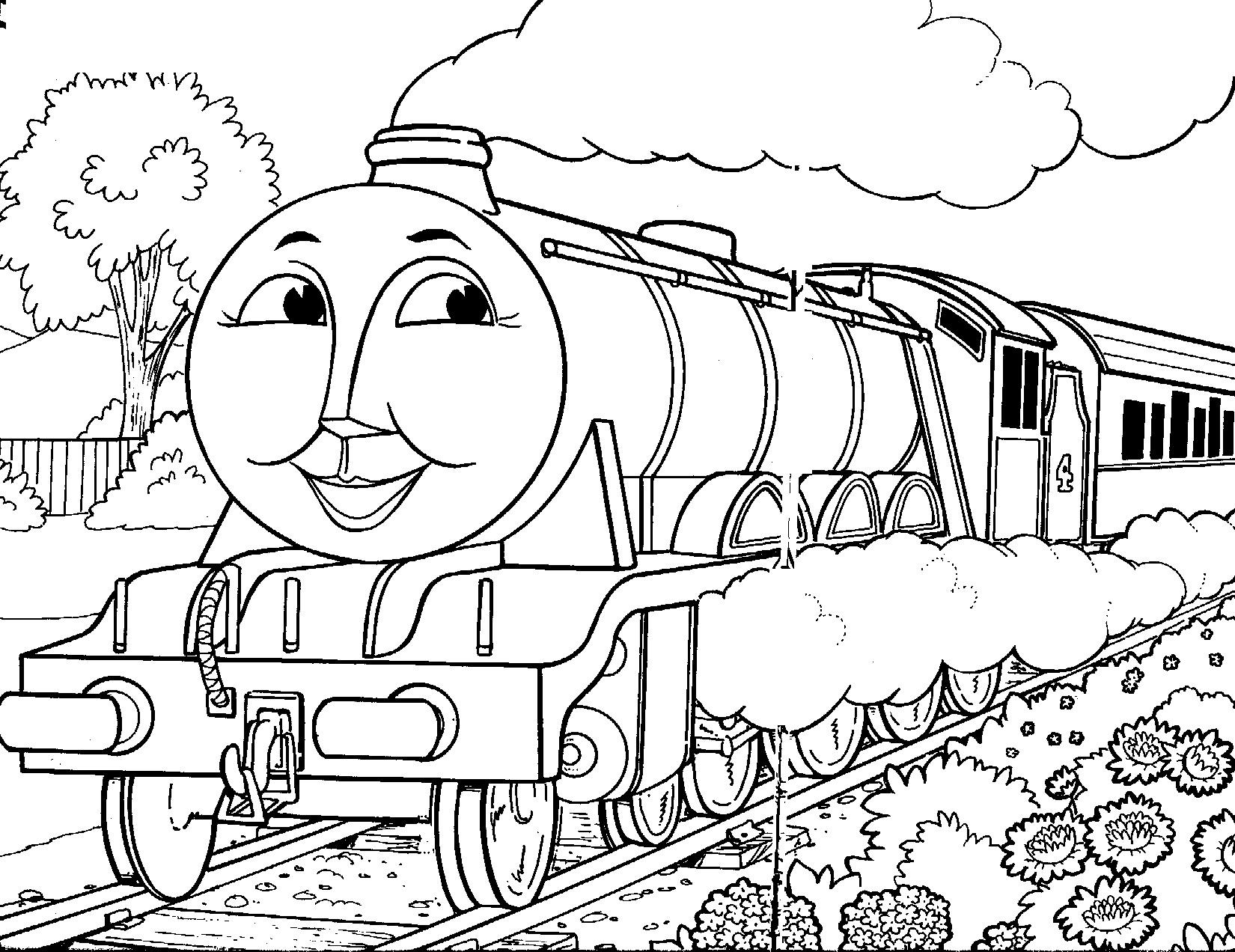 46 Dessins De Coloriage Thomas Et Ses Amis À Imprimer serapportantà Coloriage Thomas Le Petit Train