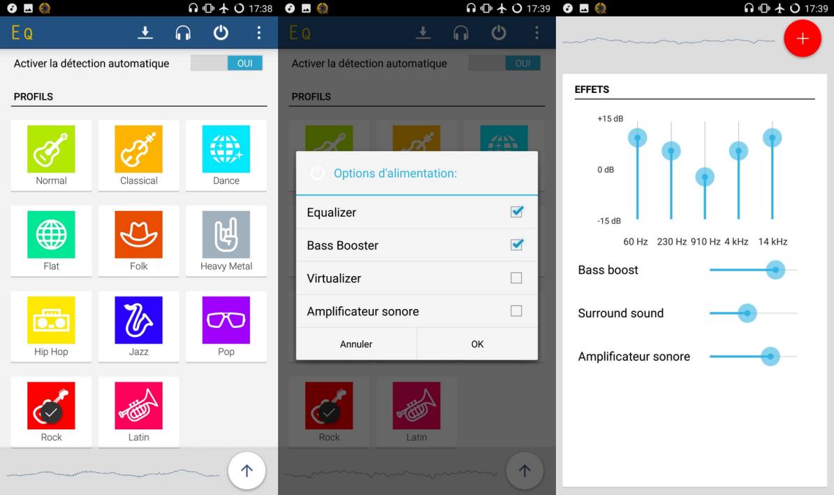 5 Égaliseurs Audio Gratuits Pour Android à Effet Sonore Gratuit