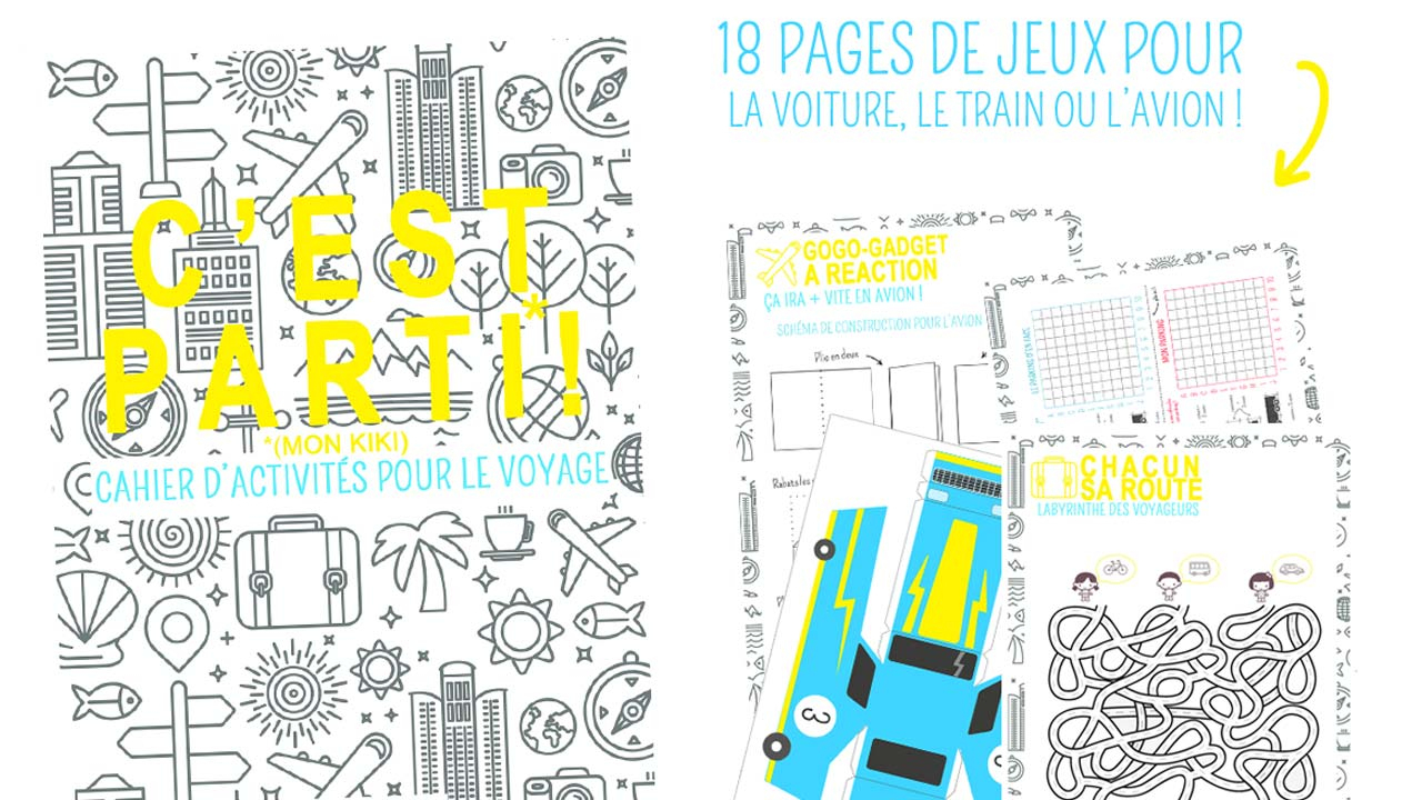 5 Jeux Éducatifs À Imprimer Pour Les Longs Trajets En encequiconcerne Jeux Facile Pour Petit Gratuit