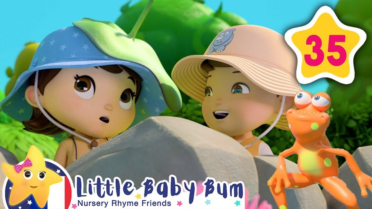 5 Petites Grenouilles | Comptines Et Chansons Pour Bébés | Little Baby Bum  En Français tout Chanson Pour Bebe 1 An