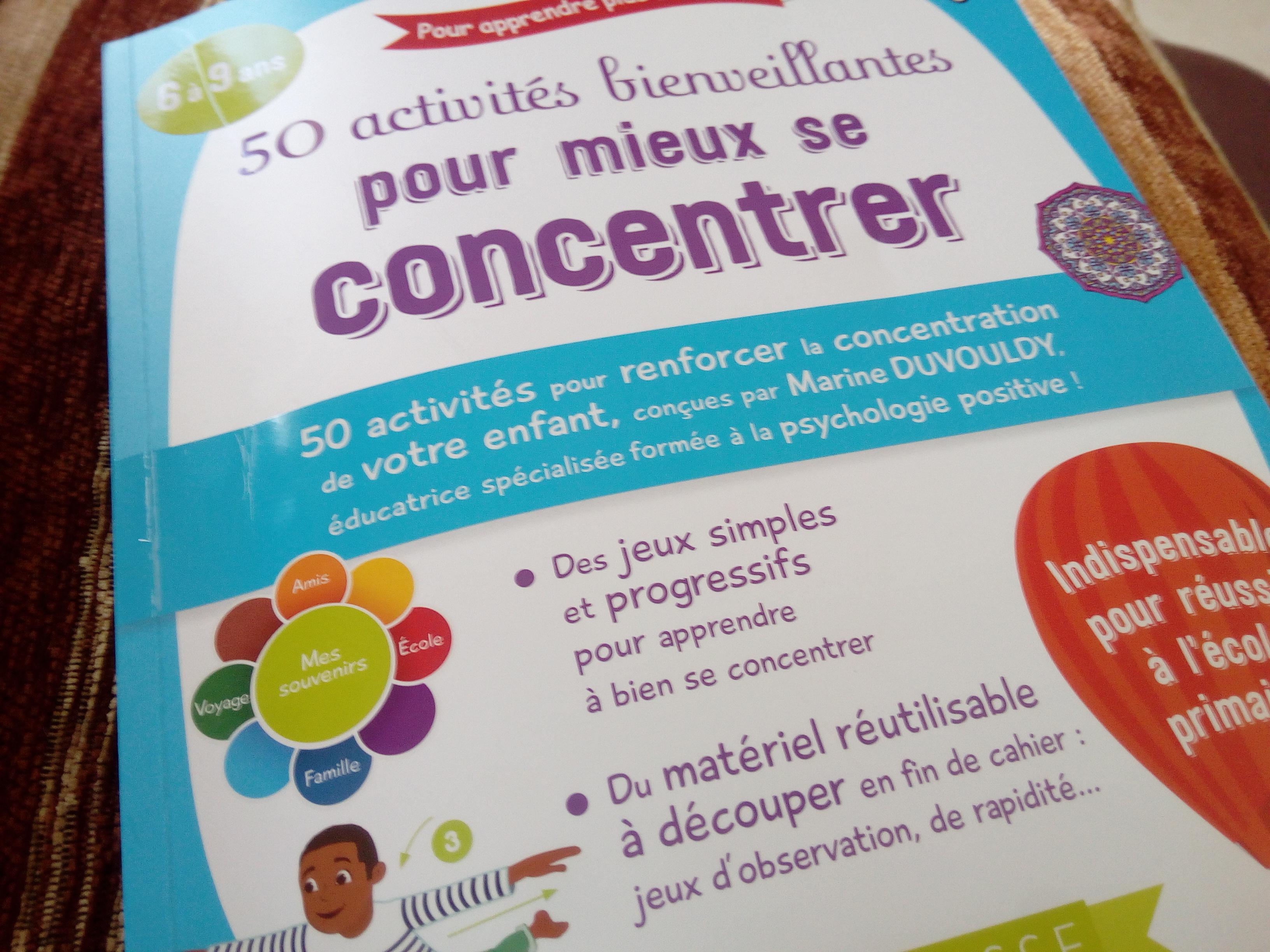 50 Activités Et Jeux Bienveillants Pour La Concentration Des dedans Jeux De Concentration À Imprimer