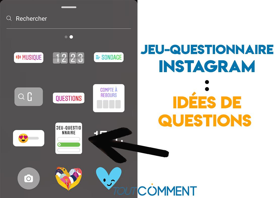 50 Questions Originales Pour Le Jeu-Questionnaire D'instagram destiné Question Reponse Jeu