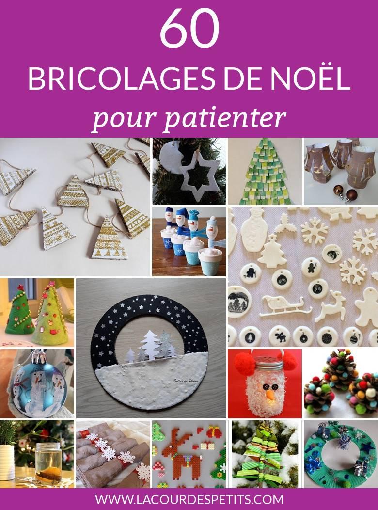 60 Bricolages De Noël Pour Patienter |La Cour Des Petits destiné Bricolage De Noel Pour Maternelle