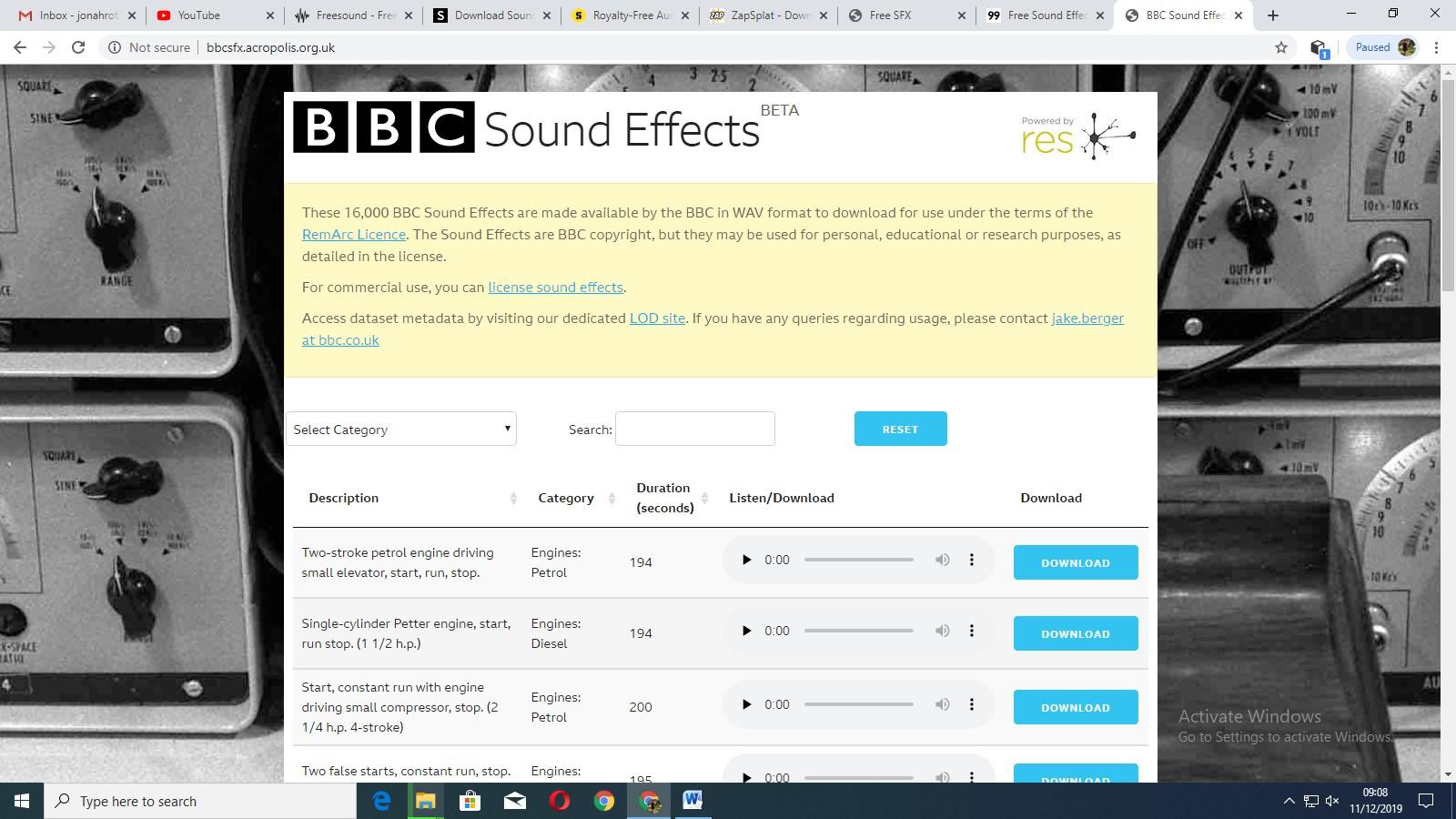 8 Sites D'effet Sonore Libres De Droits Pour Votre Montage Vidéo concernant Effet Sonore Gratuit