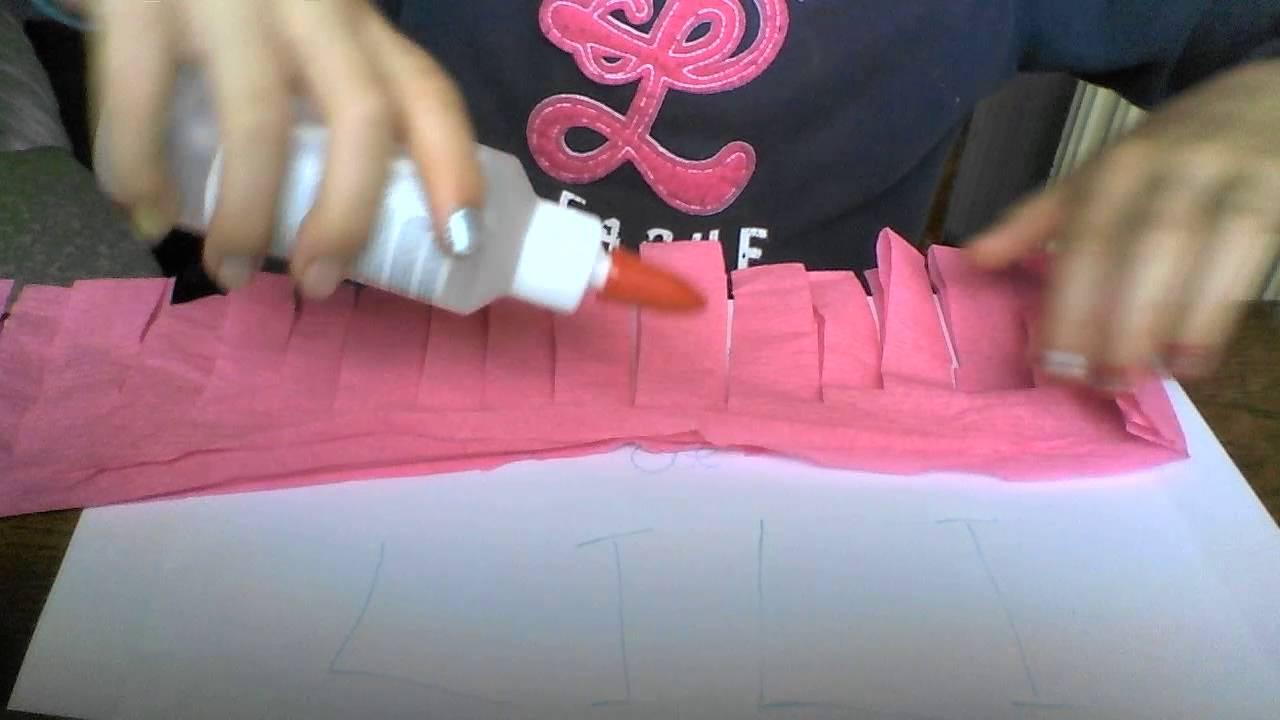 9 Eme Tuto Fleur En Papier Crepon Chaine Lili avec Realisation Papier Crepon