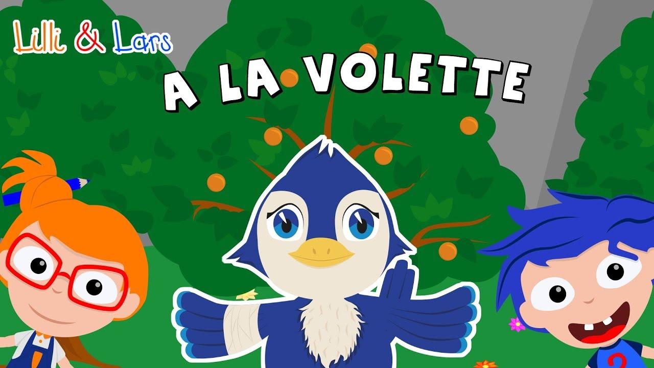Á La Volette - Mon Petit Oiseau A Pros Sa Volée - Comptines Pour Bébé encequiconcerne Vol Petit Oiseau
