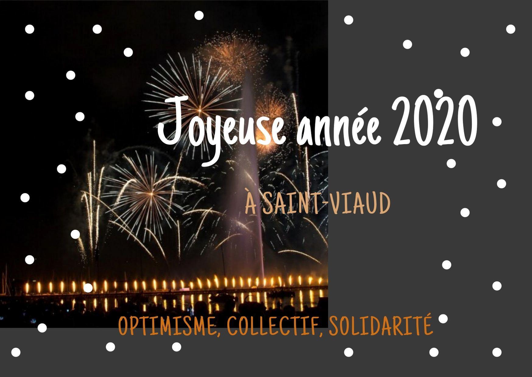 A Saint-Viaud, Les Habitants Invités À Créer La Carte De serapportantà Poeme Voeux Nouvel An