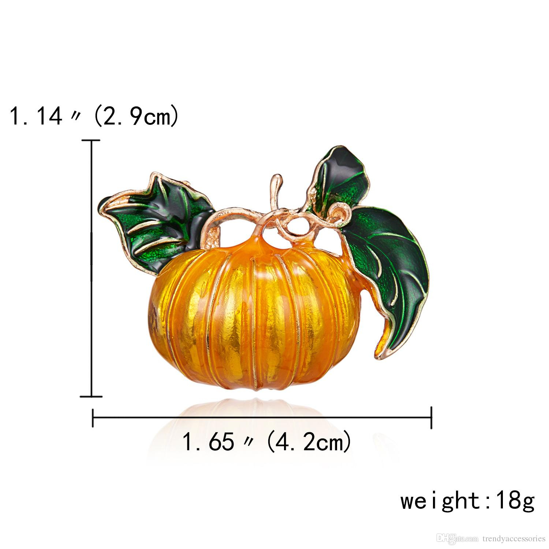 Acheter Broche Citrouille D'halloween Bijoux En Alliage Métallique De  $16.09 Du Trendyaccessories | Dhgate tout Photo De Citrouille D Halloween