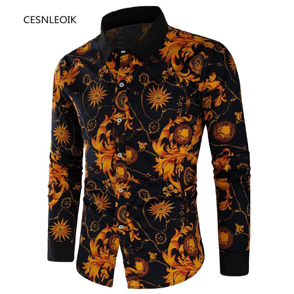 Acheter Printemps Automne Caractéristiques Chemises Hommes Casual Shirt  Nouvelle Arrivée À Manches Longues Casual Slim Fit Mâle Chemises C30 De  18,43 pour Caractéristiques De L Automne