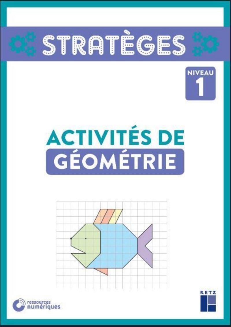 Activités De Géométrie Niveau 1 - Cp-Ce1 (+ Ressources tout Fiche Géométrie Cp