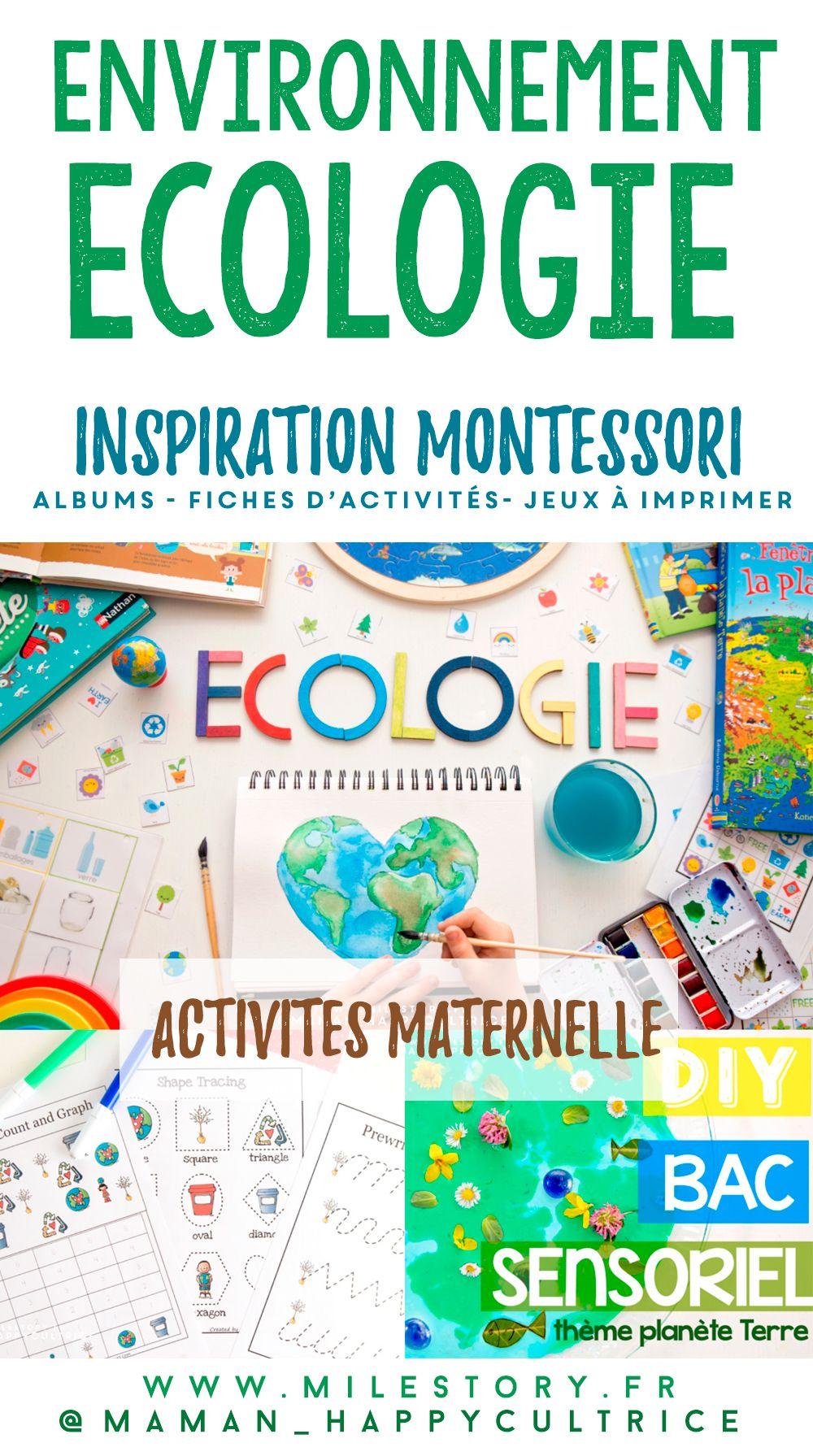 Activités Écologie En Maternelle + Fiches D'activités À destiné Album Printemps Gs