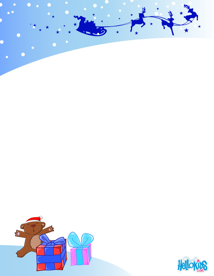Activités Manuelles Modèles De Lettre Au Père Noël À destiné Liste Pere Noel Imprimer