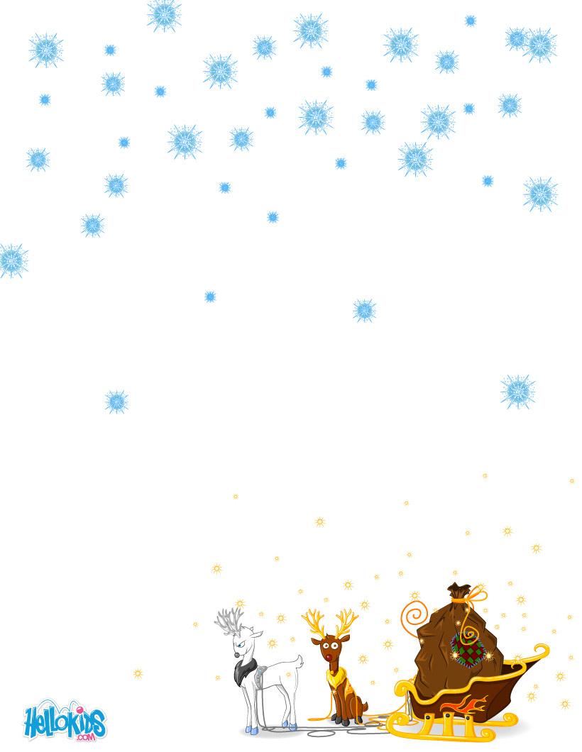 Activités Manuelles Modèles De Lettre Au Père Noël À pour Liste Pere Noel Imprimer