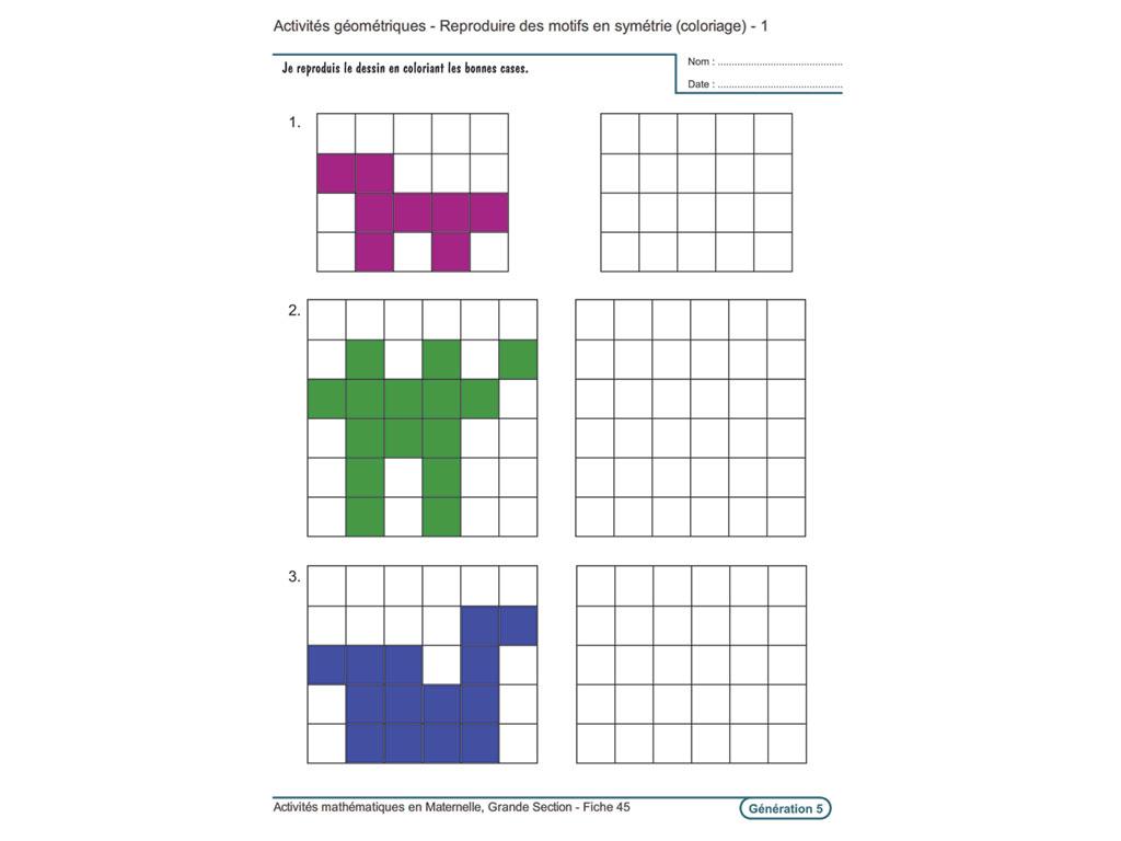 Activites Mathematiques En Maternelle Grande Section Evolu tout Fiche D Exercice Grande Section A Imprimer