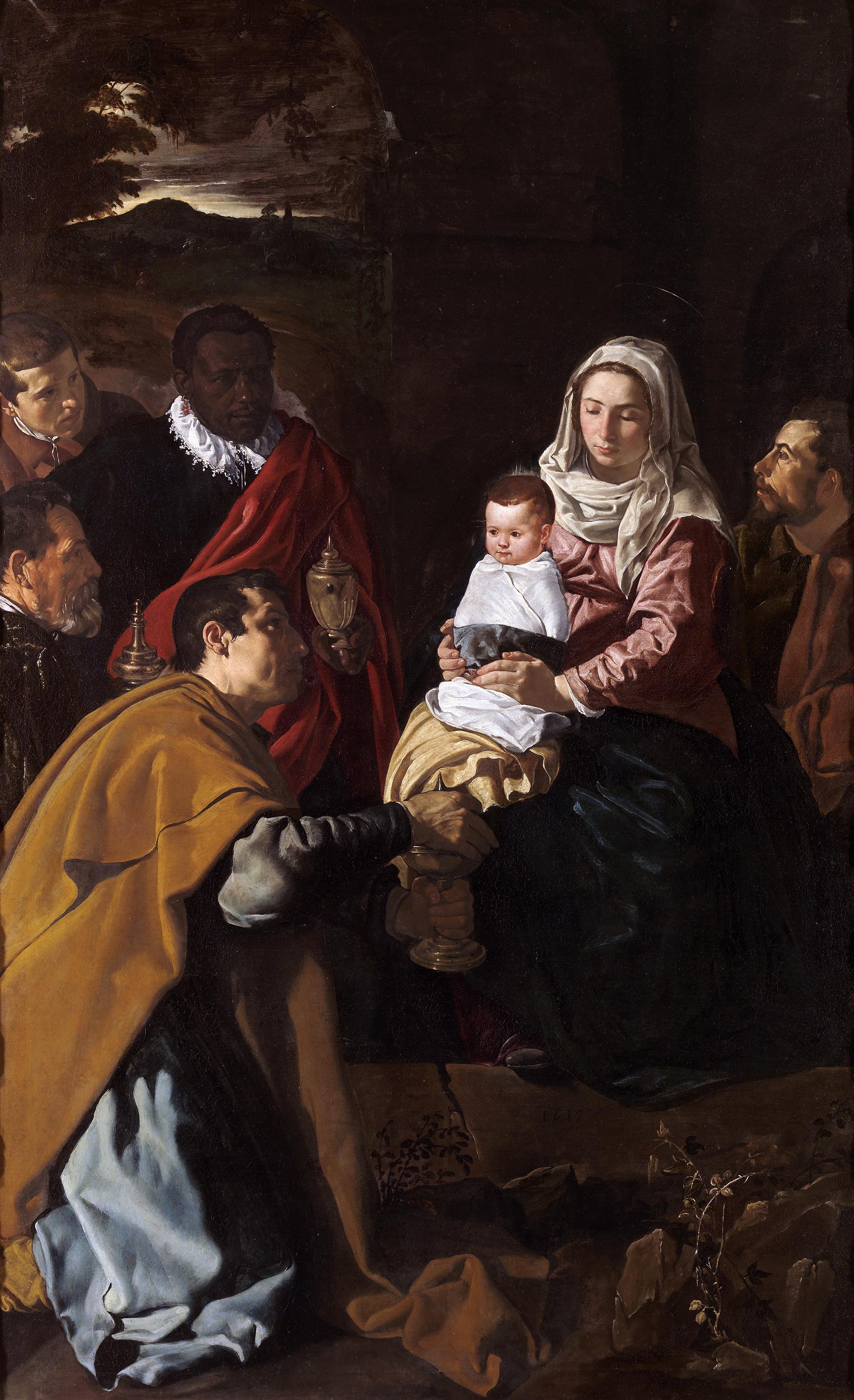 Adoration Des Mages (Vélasquez) — Wikipédia pour 3 Roi Mage