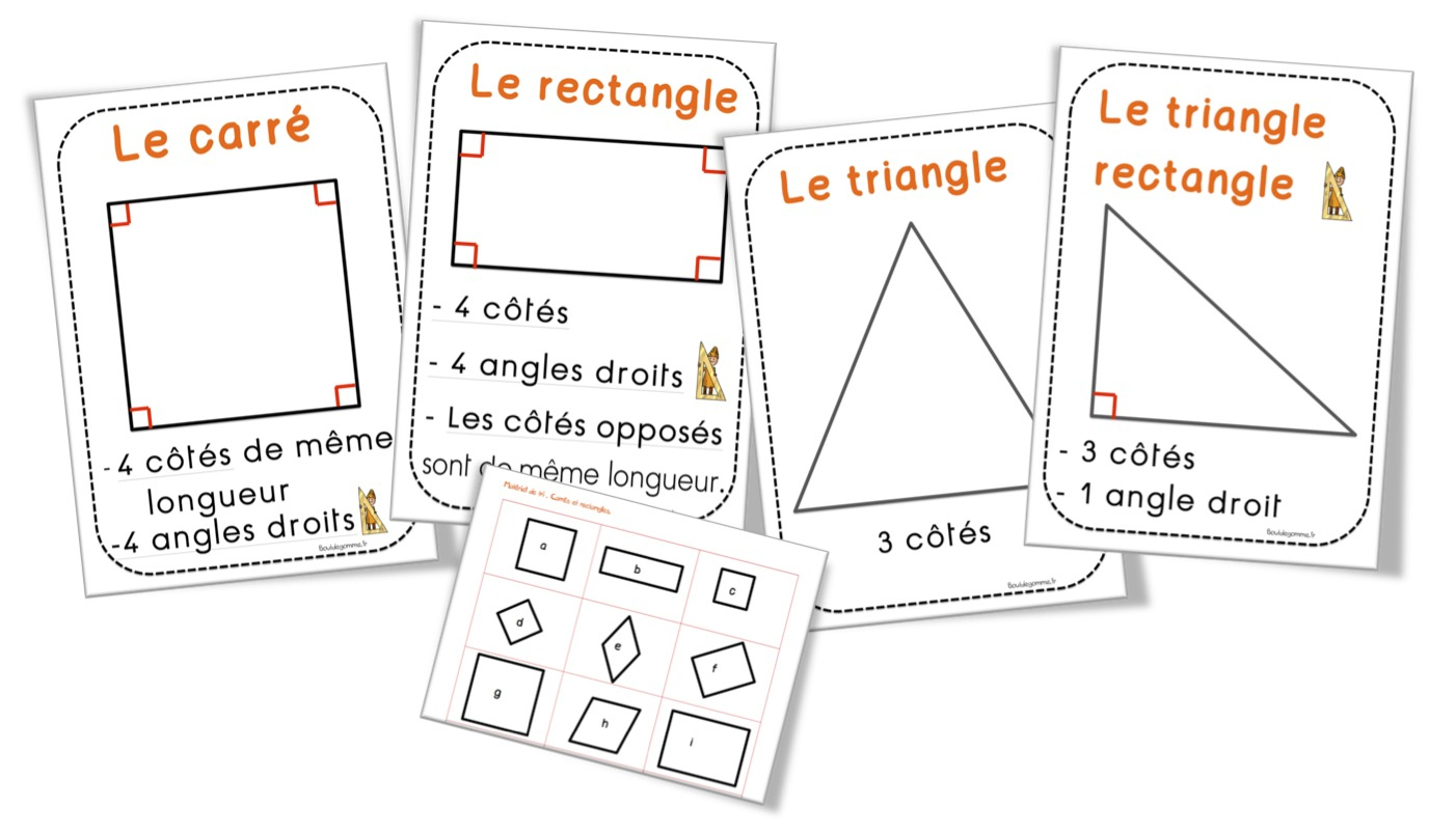 Affichage Géométrie | Bout De Gomme serapportantà Figures Géométriques Ce1