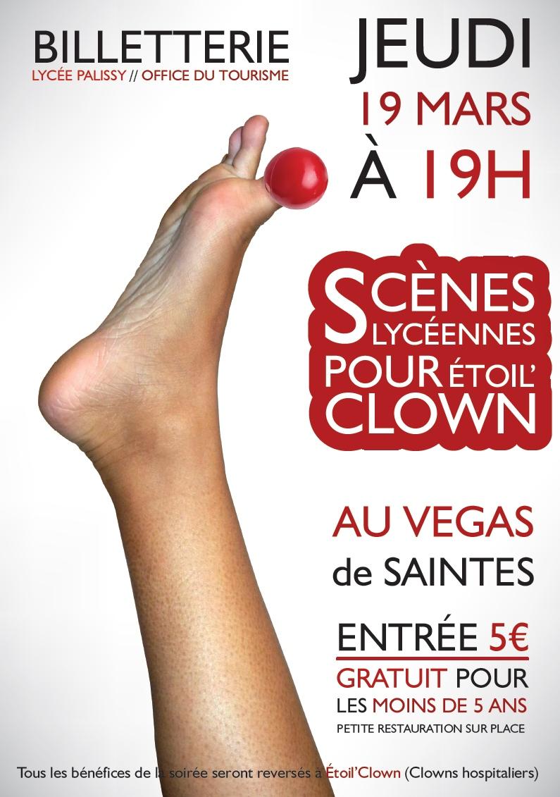 Affiche Du Spectacle Etoil'clown - Lycée Bernard Palissy concernant Etoil Clown