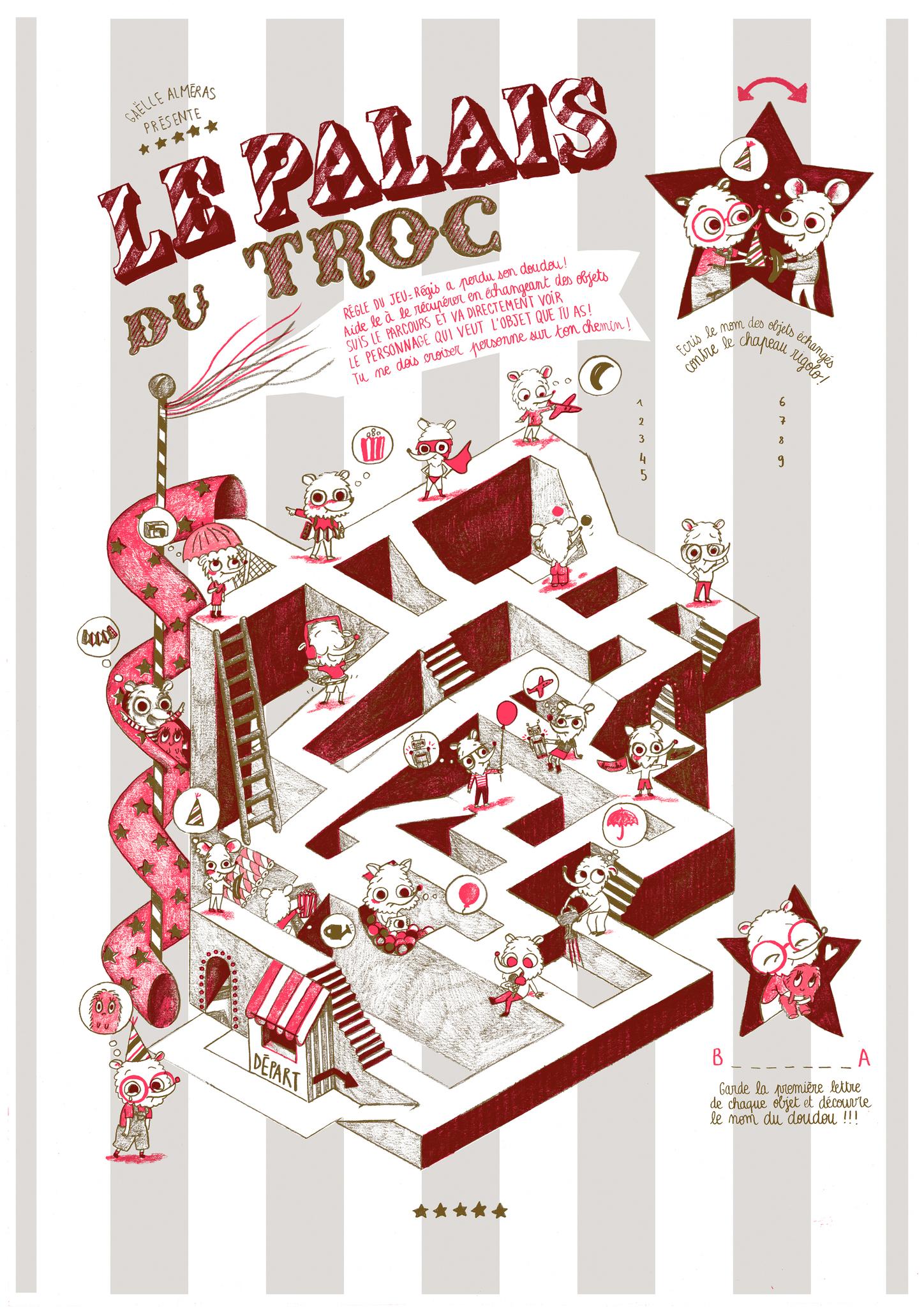 Affiche Jeu /// Fete Foraine - Le Blog De Gaëlle Almeras avec Dessin De Fete Foraine