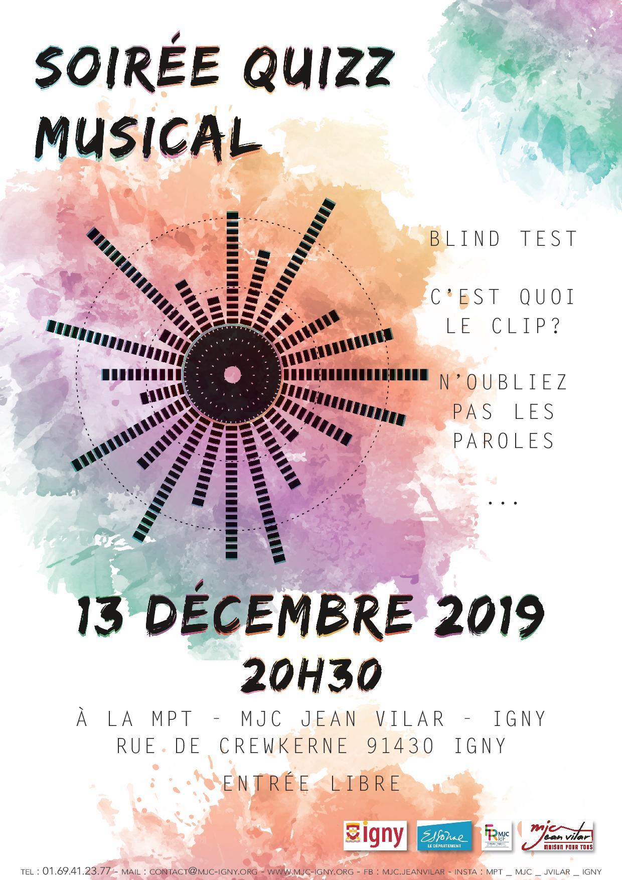 Affiche Quizz Musical-Page-001 - Igny.fr serapportantà Quiz Musical En Ligne