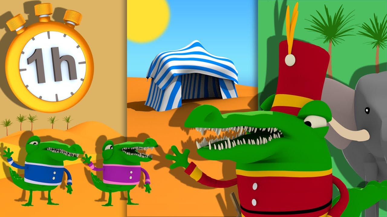 Ah Les Crocodiles + 1H De Comptines Avec Paroles intérieur Ah Les Cro