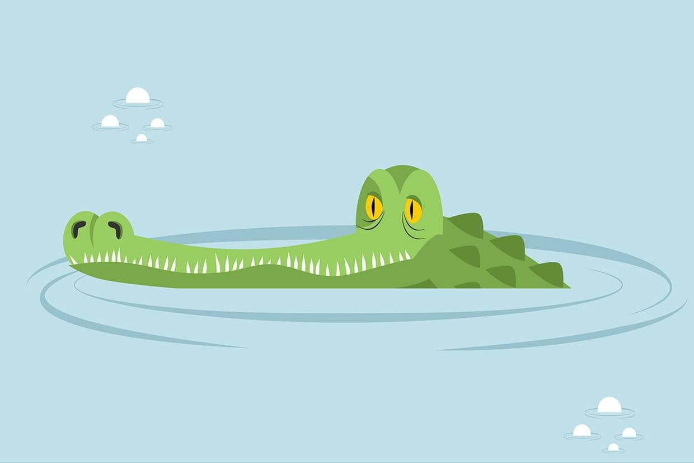 Ah Les Crocodiles, Chansons Pour Enfants Sur Hugolescargot avec Ah Les Cro