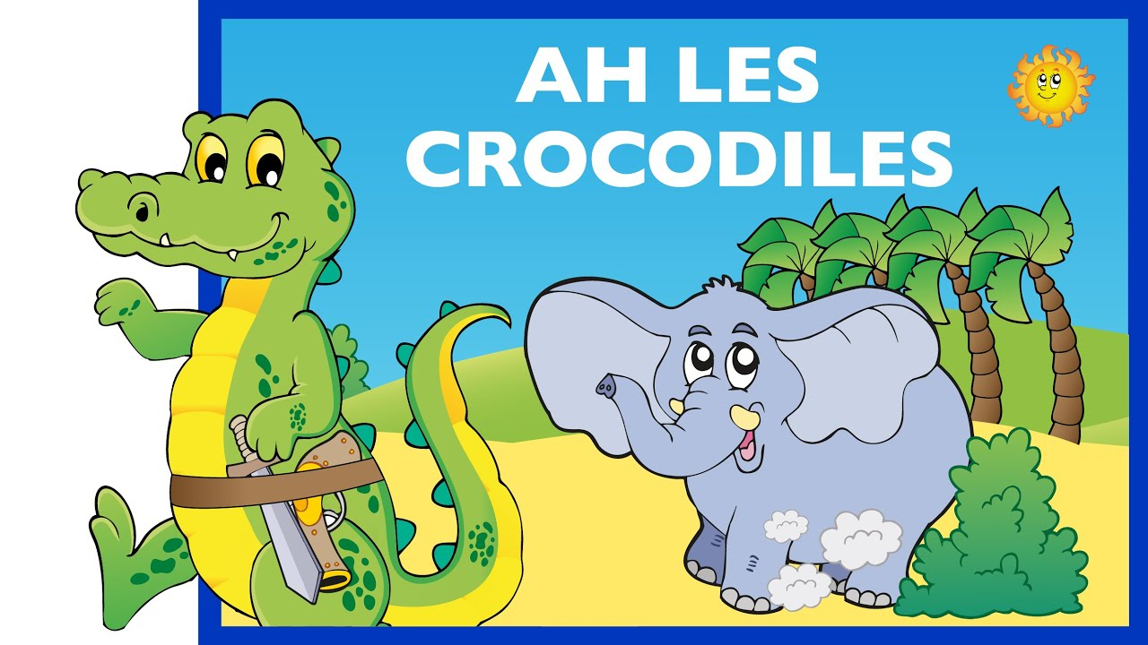 Ah Les Crocodiles Comptine Hd serapportantà Ah Les Cro