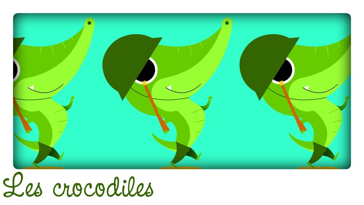 Ah Les Crocodiles ! ♫ Comptines Et Chansons Classiques & Comptines  Maternelles Pour Bébé En Français avec Ah Les Cro