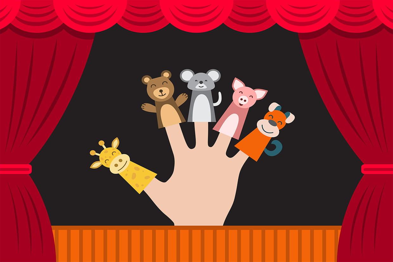 Ainsi Font, Font, Font, Chansons Pour Enfants Sur à Les Petites Marionnettes Chanson