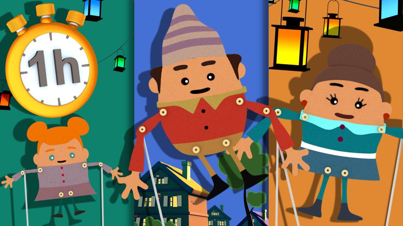 Ainsi Font Font Font Les Petites Marionnettes + 1H De Chansons serapportantà Les Petites Marionnettes Chanson