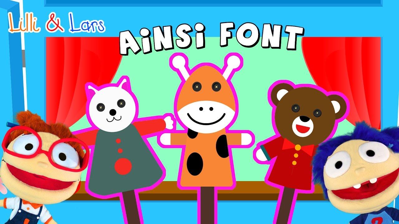 Ainsi Font Font Font Les Petites Marionnettes - Chansons Pour Enfant -  Chanter Avec Nous intérieur Les Petites Marionnettes Chanson