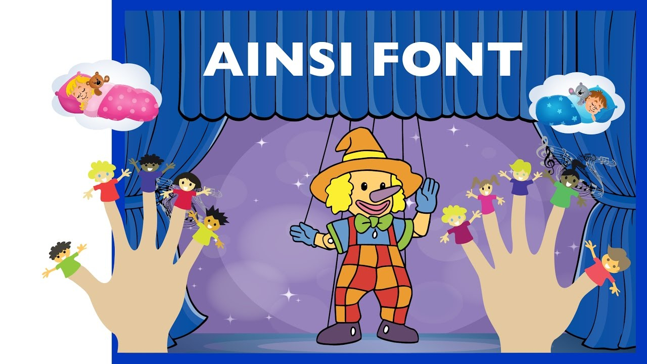 Ainsi Font Font Font Les Petites Marionnettes - Comptine À Gestes (Hd) destiné Les Petites Marionnettes Chanson