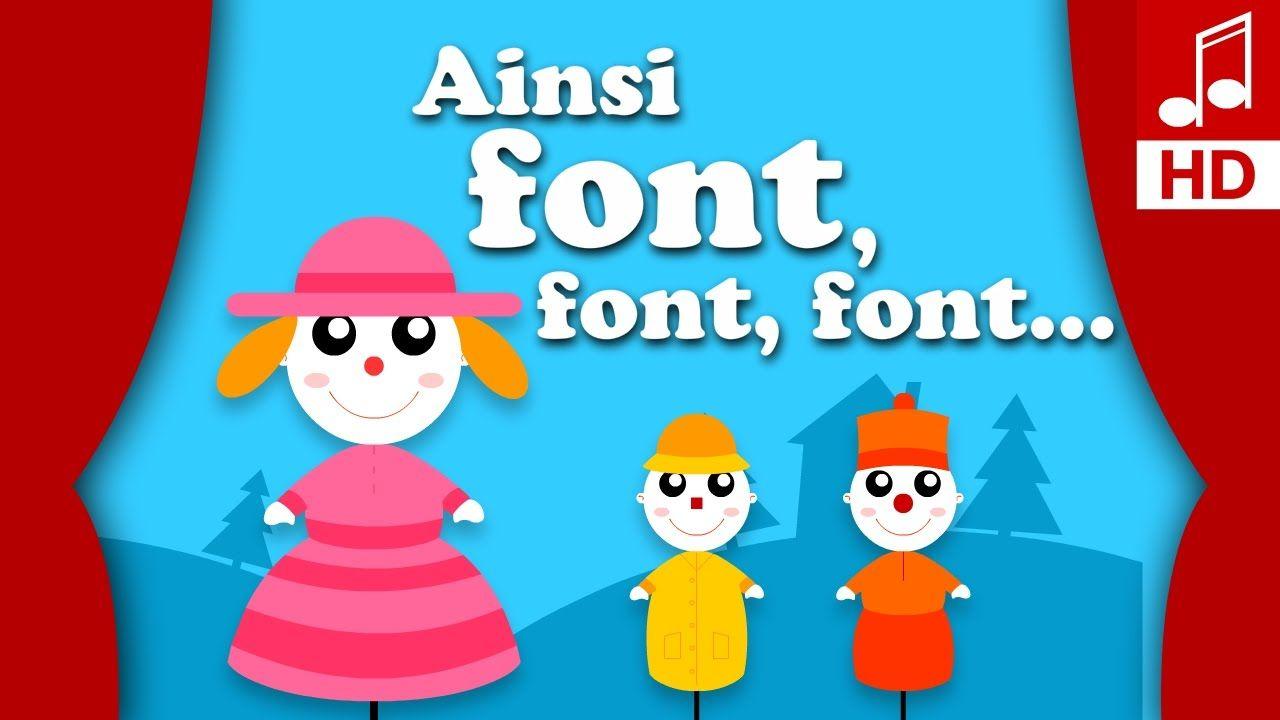 Ainsi Font Font Font Les Petites Marionnettes Comptine Pour destiné Les Petites Marionnettes Chanson