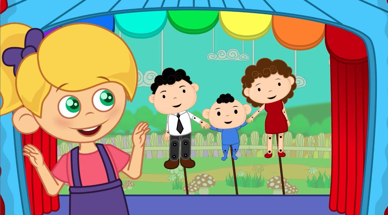 Ainsi Font Font Font Les Petites Marionnettes - Comptines Et Chansons Avec  Les P'tits Z'amis concernant Les Petites Marionnettes Chanson