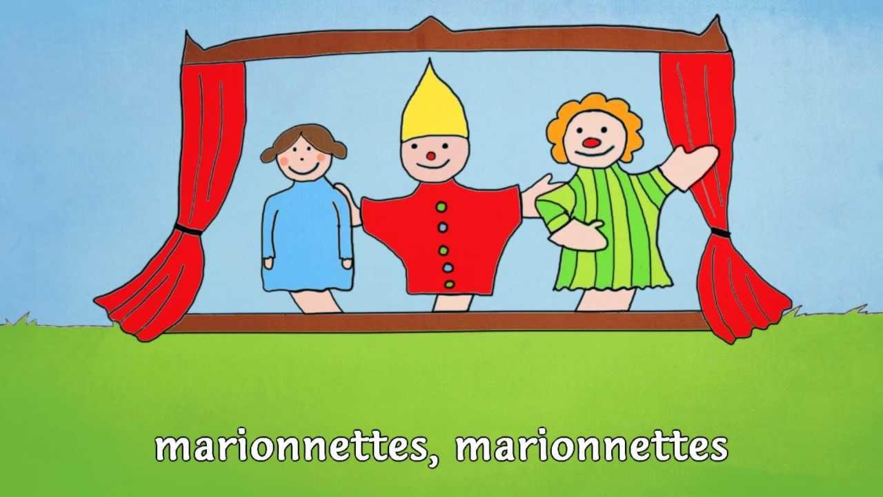 « Ainsi Font, Font, Font » (Les Petites Marionnettes) - Mister Toony concernant Les Petites Marionnettes Chanson