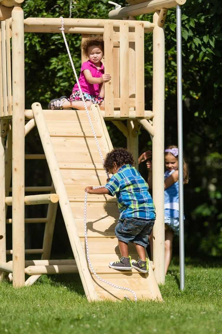 Aire De Jeux Pour Jardin - Idées En Images Pour Valoriser L destiné Jeux Pour Petit Enfant