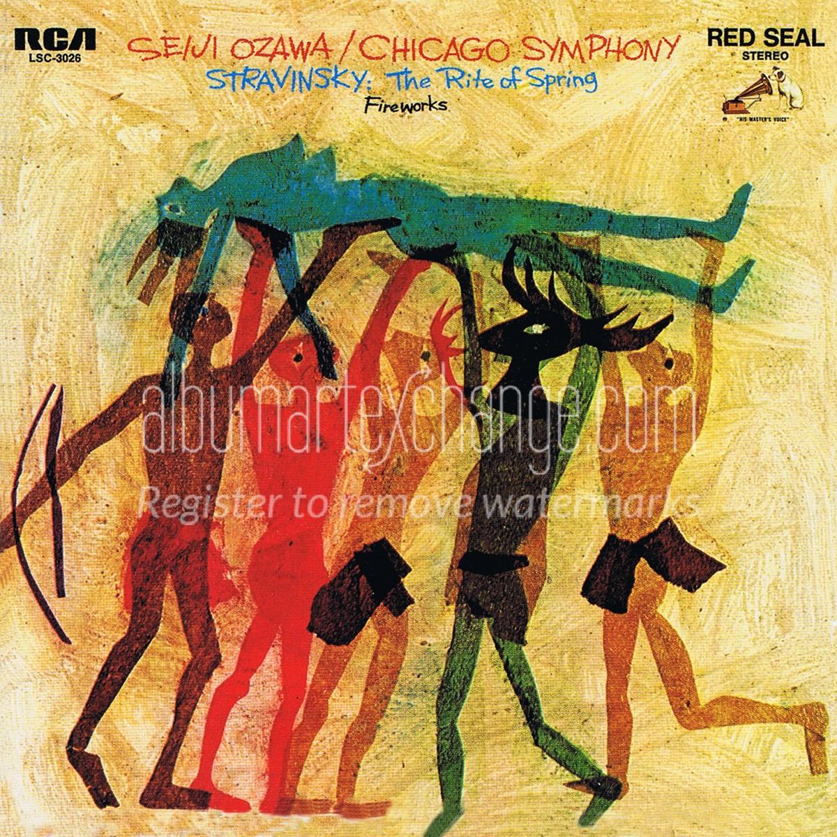 Album Art Exchange - Stravinsky: Le Sacre Du Printemps pour Album Printemps Gs