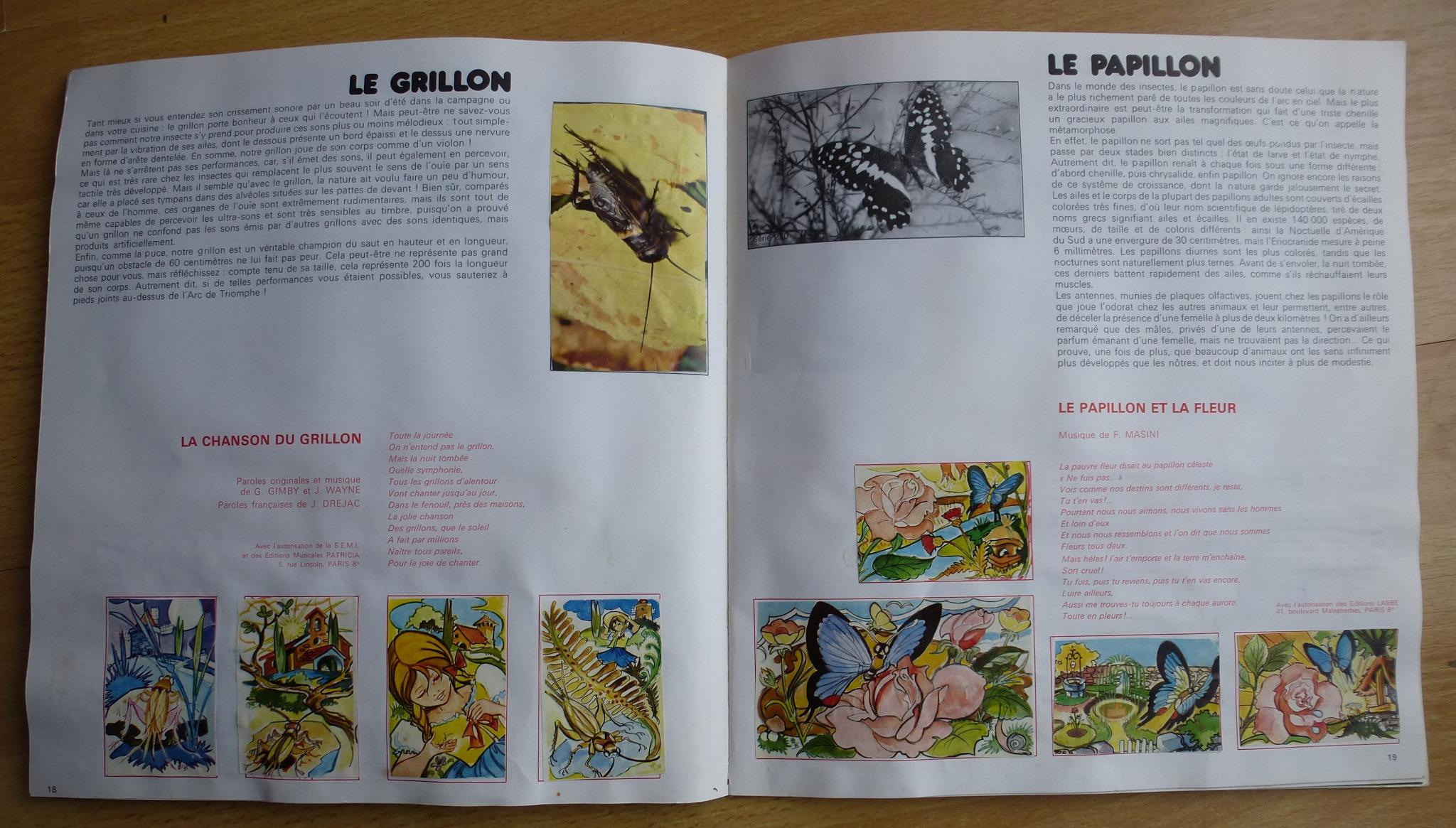 """Album Chocolat Poulain Numéro 12 """"les Animaux En Chansons destiné Chanson Pour Les Animaux"""
